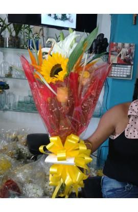 Arreglo Floral 86, Mas Girasol